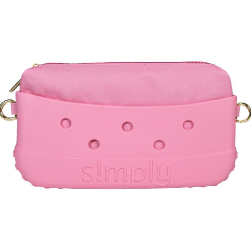 Simply Southern Clutch Flamingo with Satchel Strap