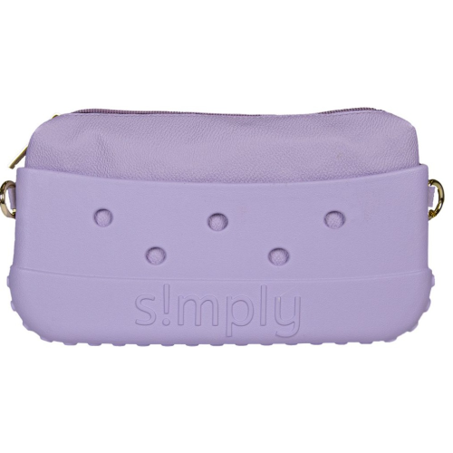 Simply Southern Clutch Orchid with Satchel Strap