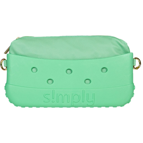 Simply Southern Clutch Mint with Satchel Strap