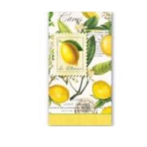Lemon Basil Hostess Napkins