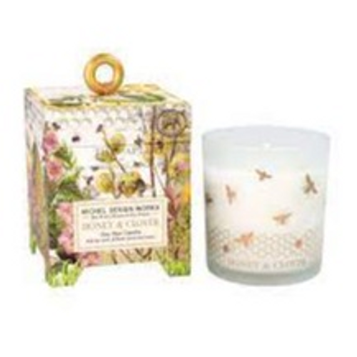 Honey & Clover 6.5oz Soy Wax Candle