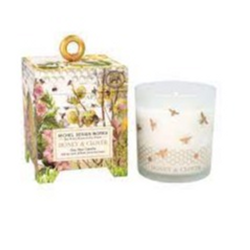 Honey & Clover 6.5 oz Soy Wax Candle- Tester