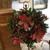 Poinsettia and Berry Christmas Wreath