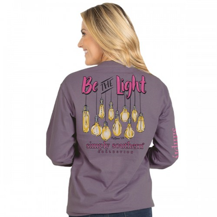 Be the Light Simply Southern Long Sleeve