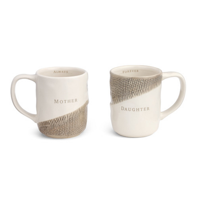 Mother and Daughter Mugs set of 2