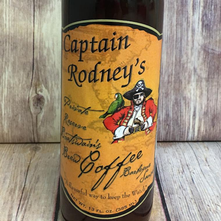 Coffee BBQ Sauce Captain Rodney's