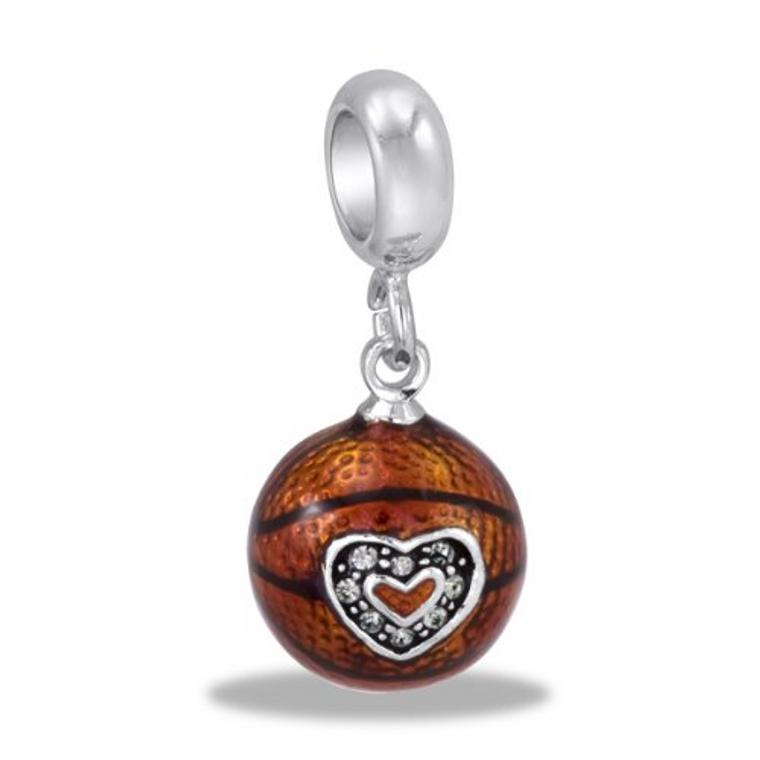 Dangle Basketball orange