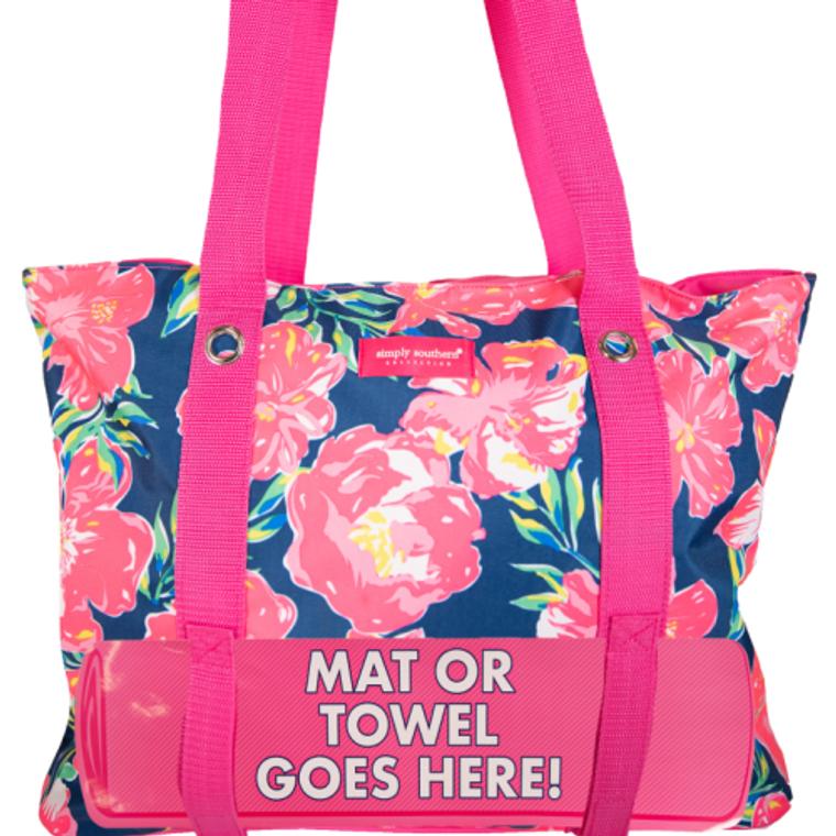 Hibiscus Beach Bag