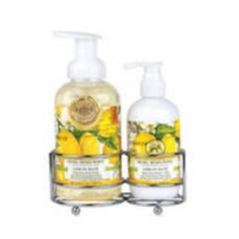 Lemon Basil Handcare Caddy
