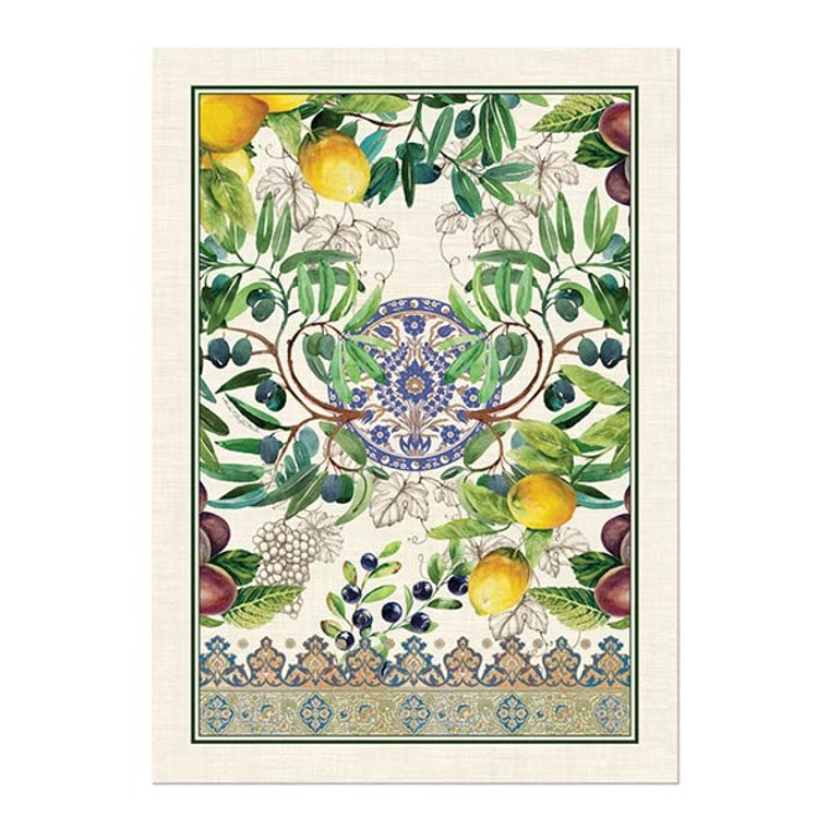 Tuscan Grove Kitchen Towel by Michel Designs