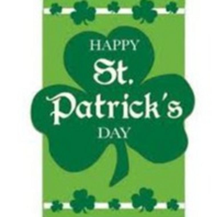 Happy St Patrick's Day Flag