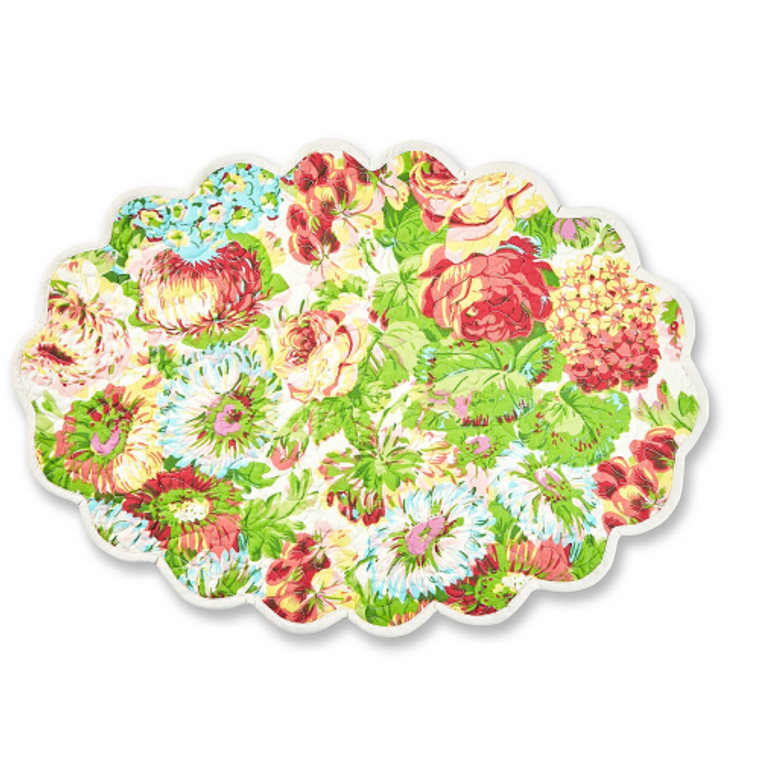 Spring Gathering Coral Placemats