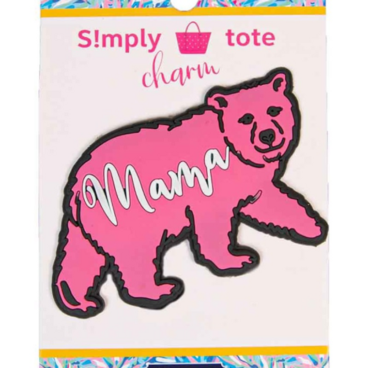 Simply Southern Silicone Mama Bear Charm