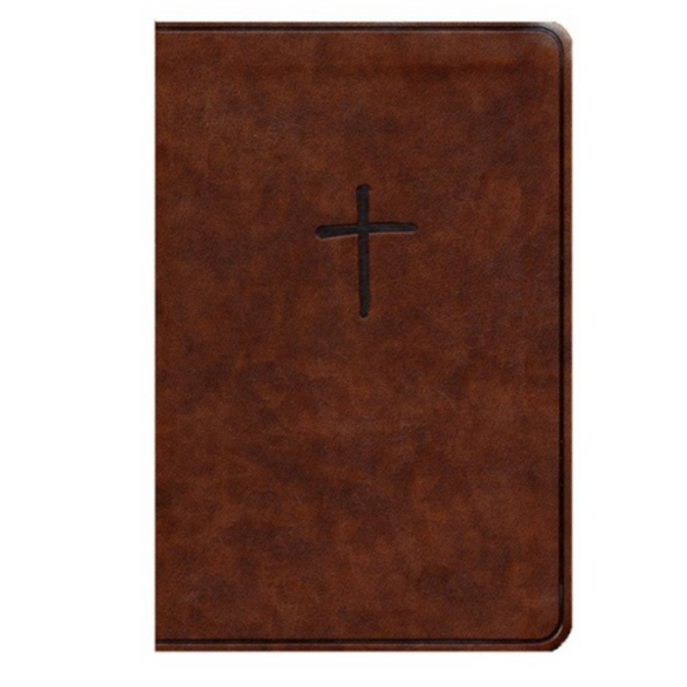 KJV Compact Bible, Brown, Value Edition