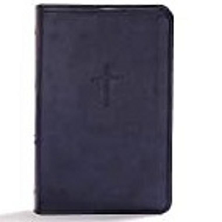 KJV Compact Bible, Navy, Value Edition