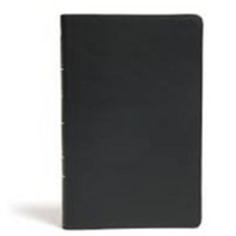 KJV Ultrathin Reference Bible Black IDX