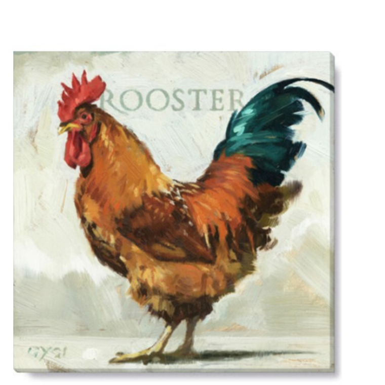 Franklin Delano Rooster Wall Art