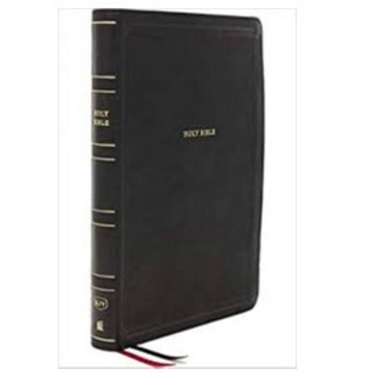 KJV Giant Print Thinline Bible, Black LT, IDX