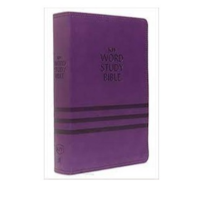 KJV Purple Word Study Bible IDX