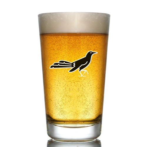 Austin Anthem and Haymaker Collaboration Pint Glass