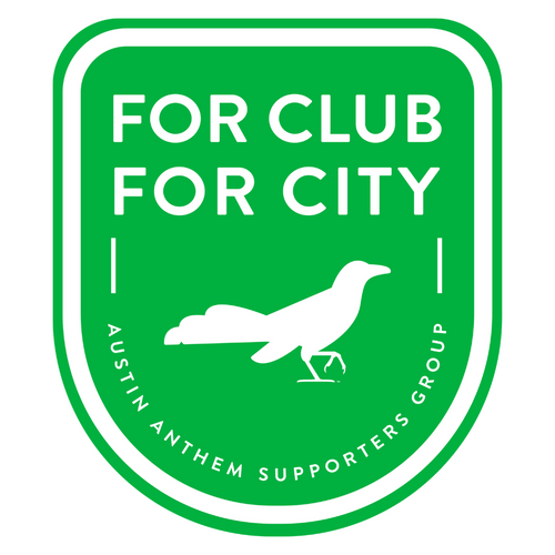 For Club For City Enamel Pin