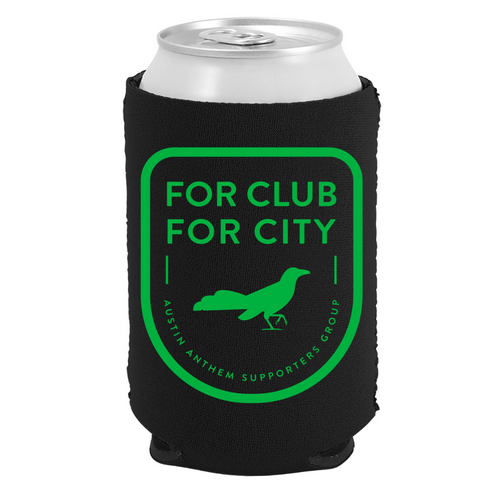 For Club, For City Koozie