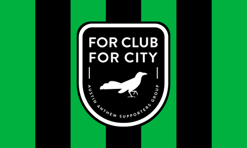 For Club, For City 3 x 5 Flag