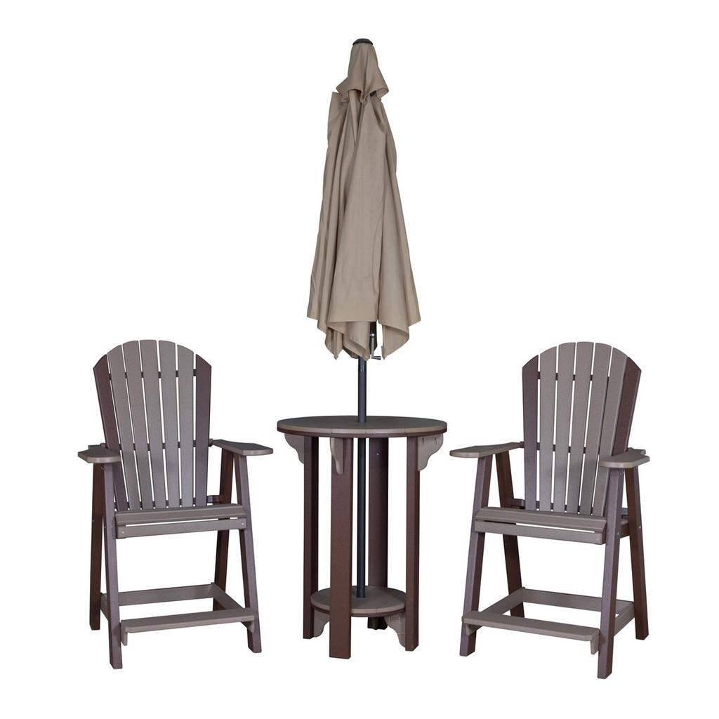 Adirondack Balcony Chair (Poly)