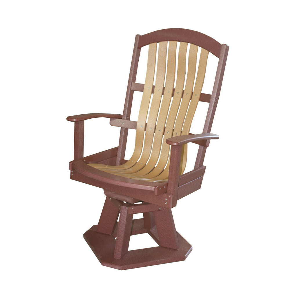 Classic Poly Bent Swivel Chair