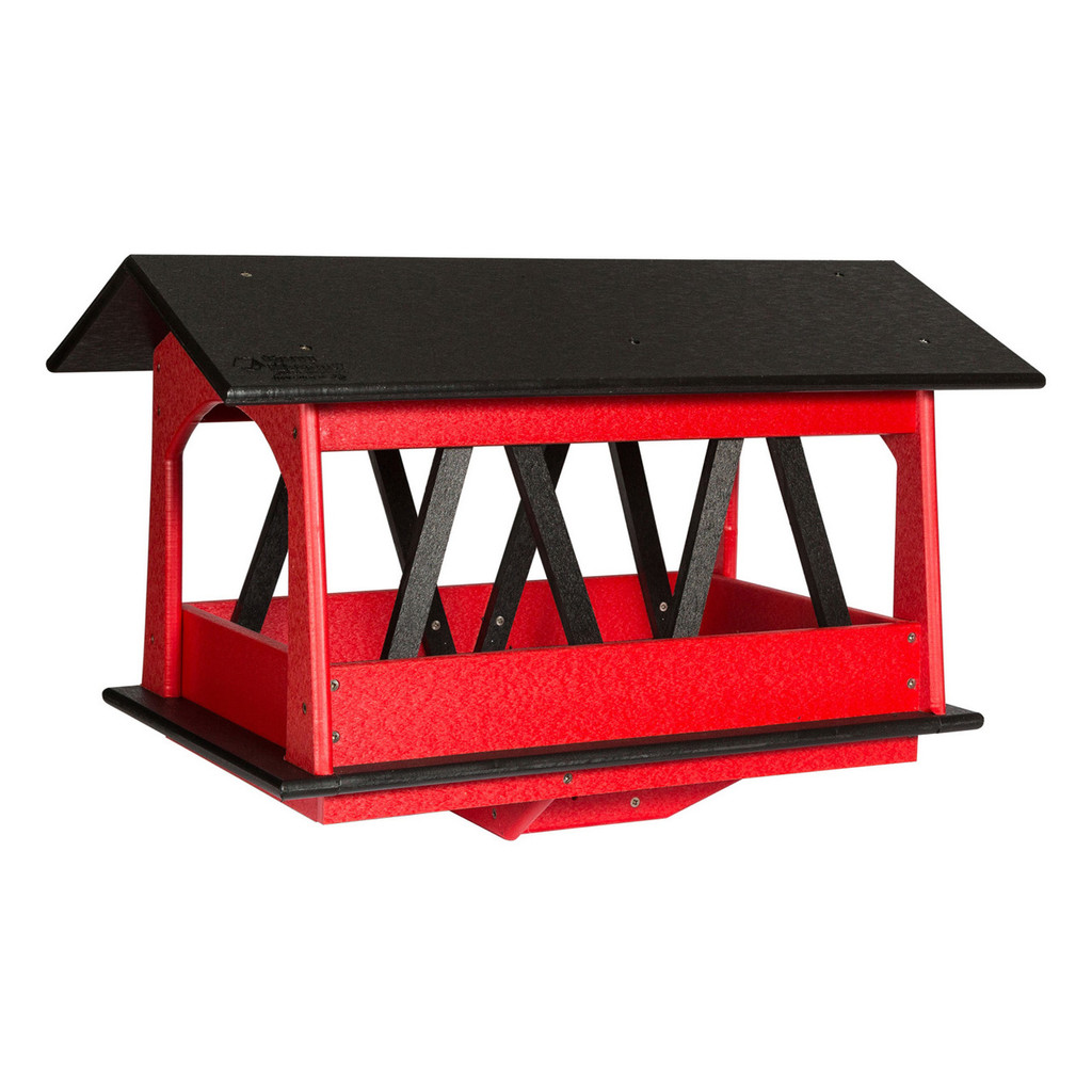 Covered Bridge Bird Feeder | Bird Feeder Pole