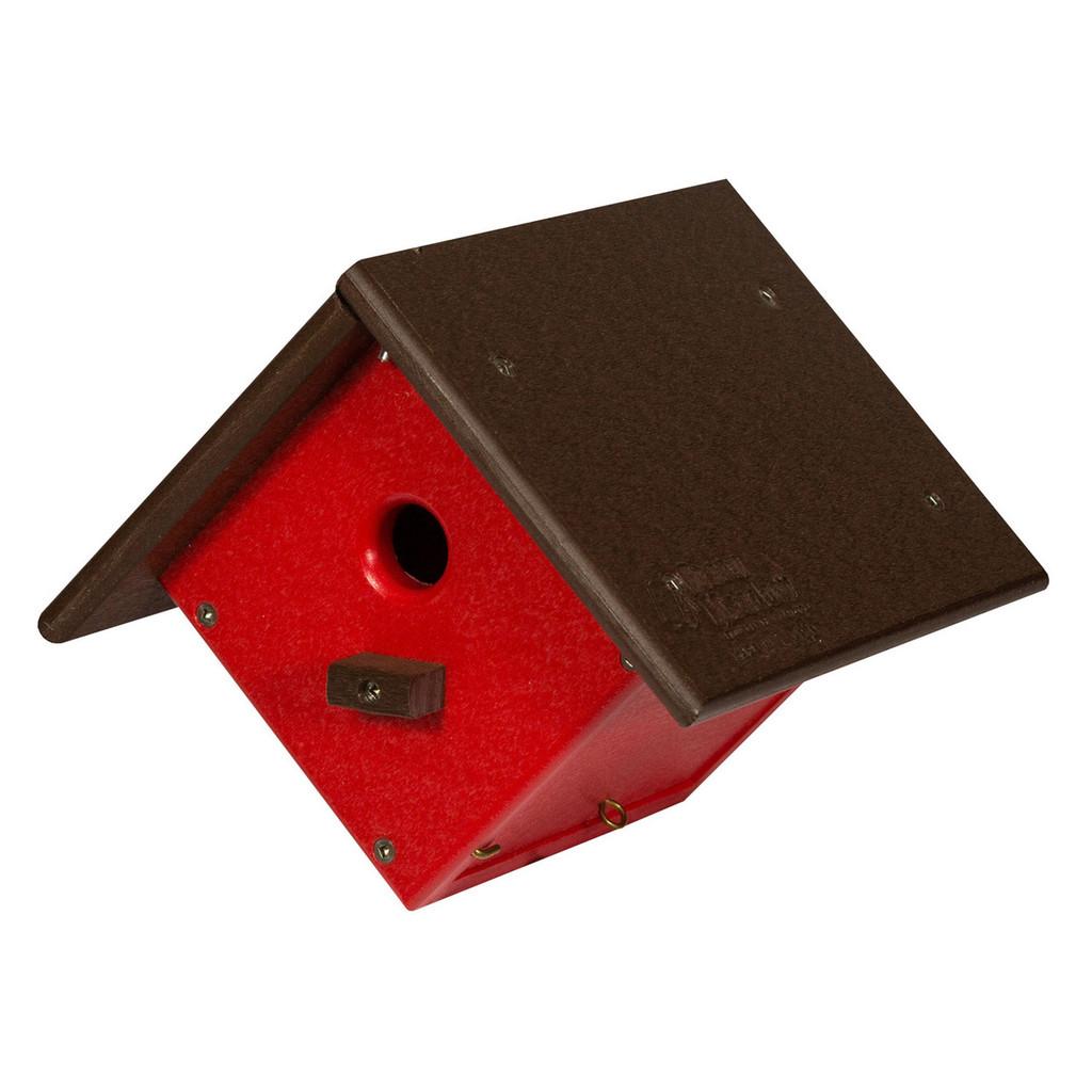 Wren Chickadee Birdhouse | Hanging Birdhouse
