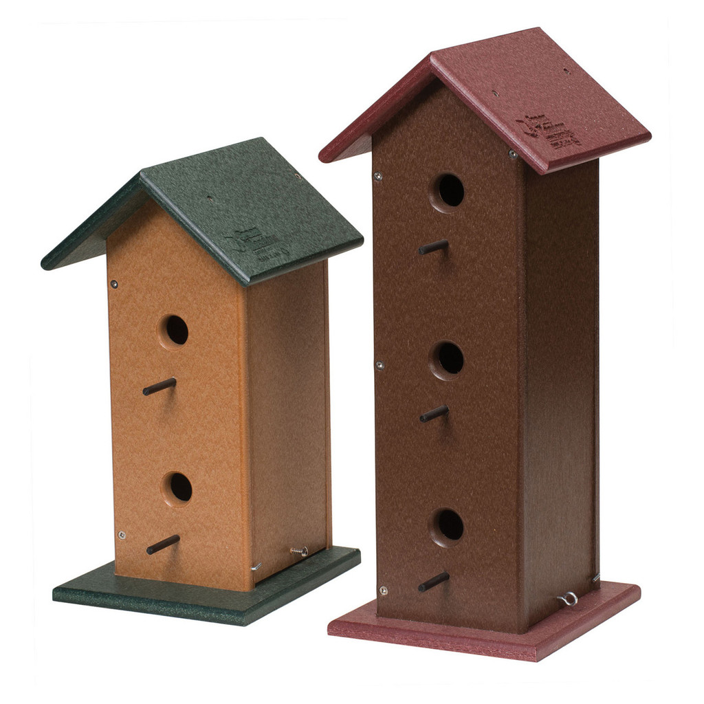 Trio Birdhouse | Large Birdhouse