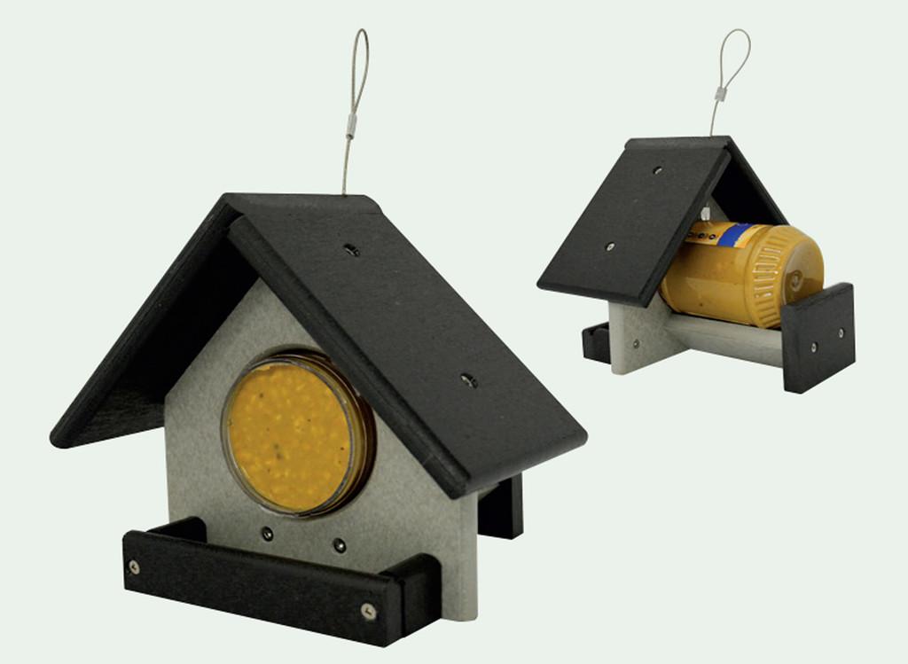 Peanut Butter Jar Feeder | Peanut Butter Bird Feeder Hanging