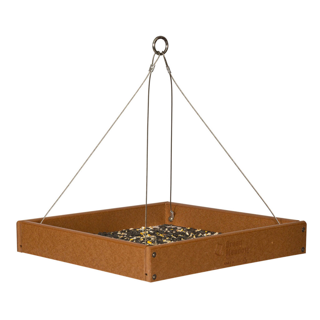 Fly By Tray Bird Feeder | Hanging Bird Feeder