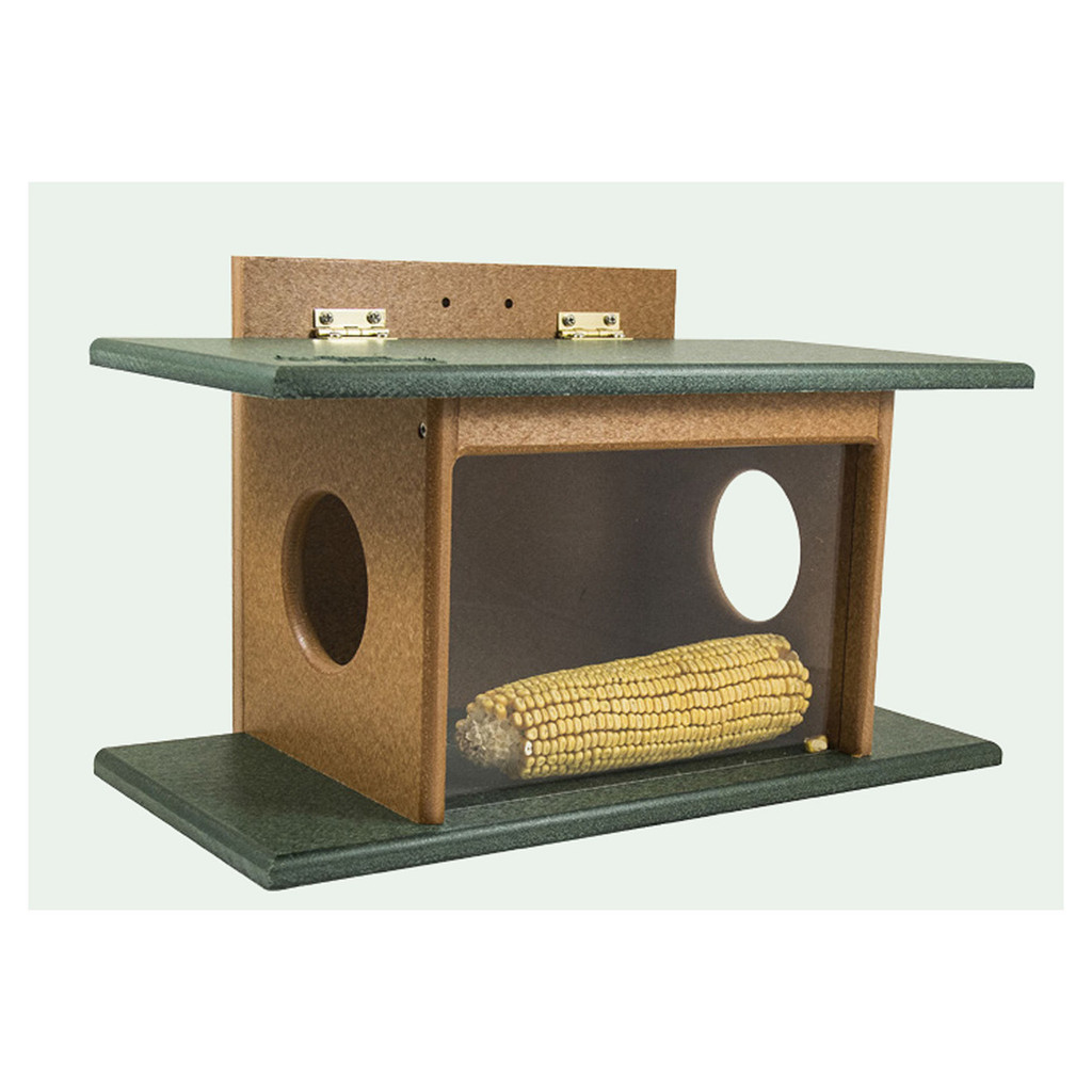 Squirrel House Feeder | Unique Squirrel Feeder & House