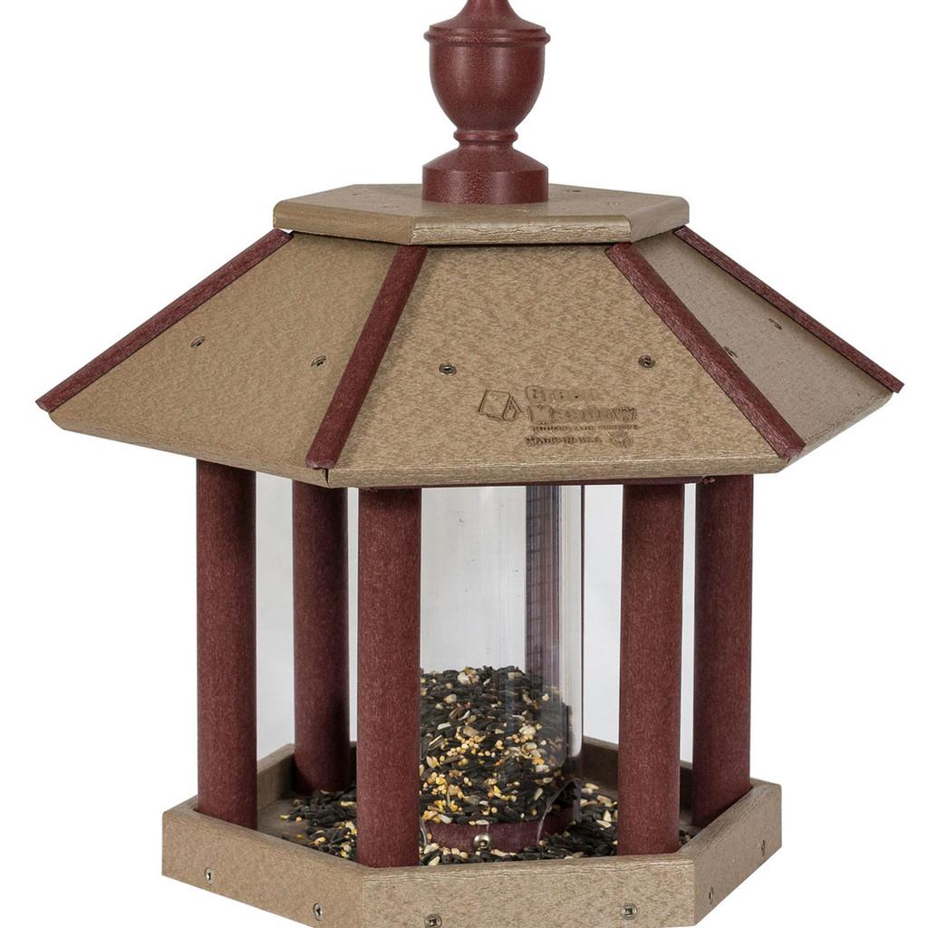 Gazebo Bird Feeder | Unique Bird Feeder Pole