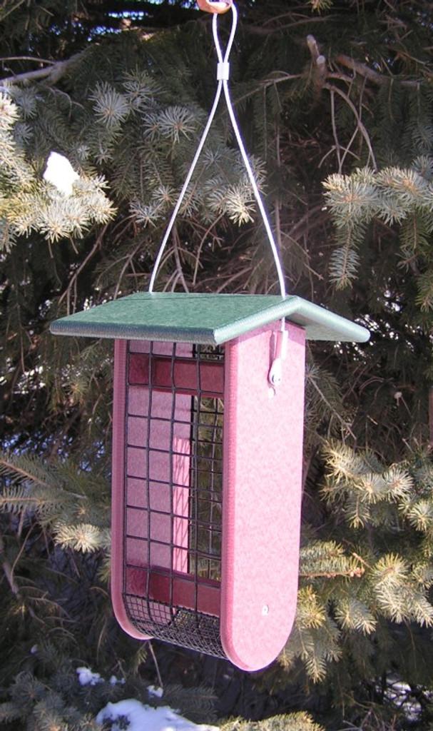 Raw Peanut Bird Feeder | Poly Lumber Bird Feeders
