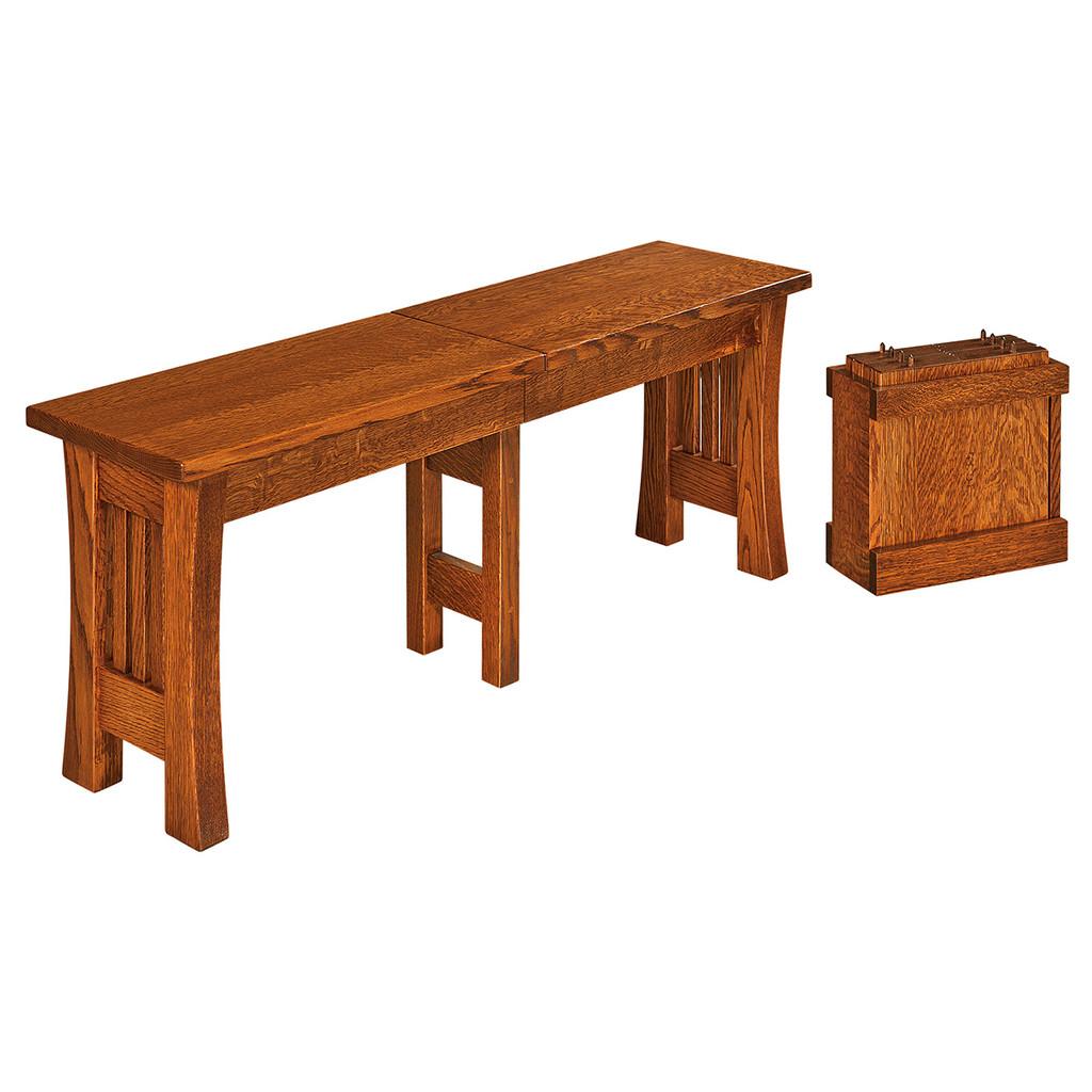 Arts & Crafts Bench