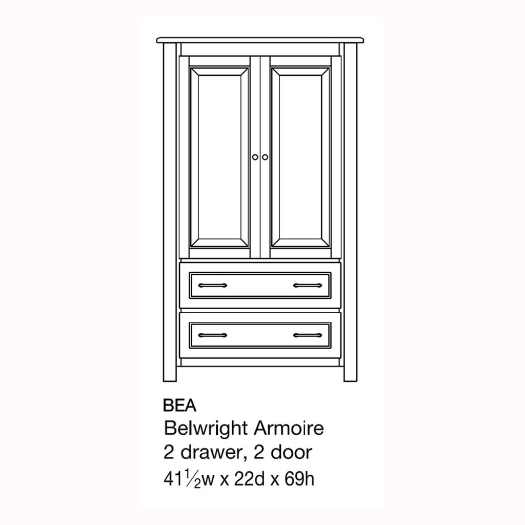 Belwright Armoire
