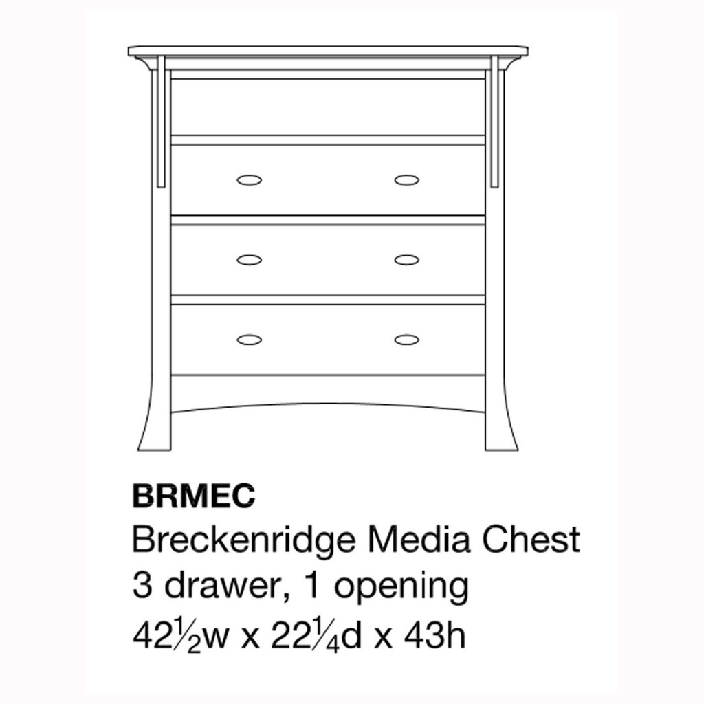 Breckenridge Media Chest