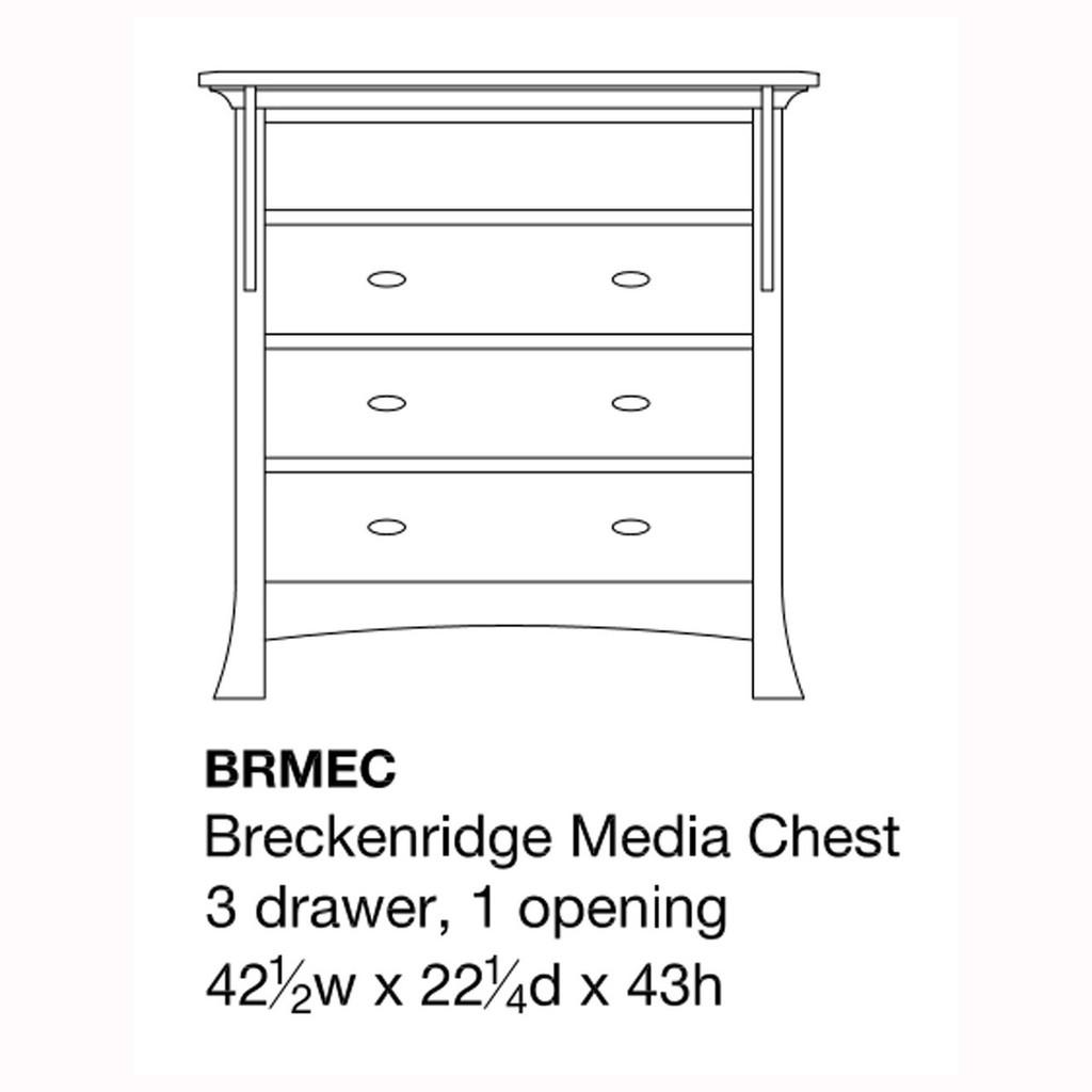 Breckenridge Media Chest