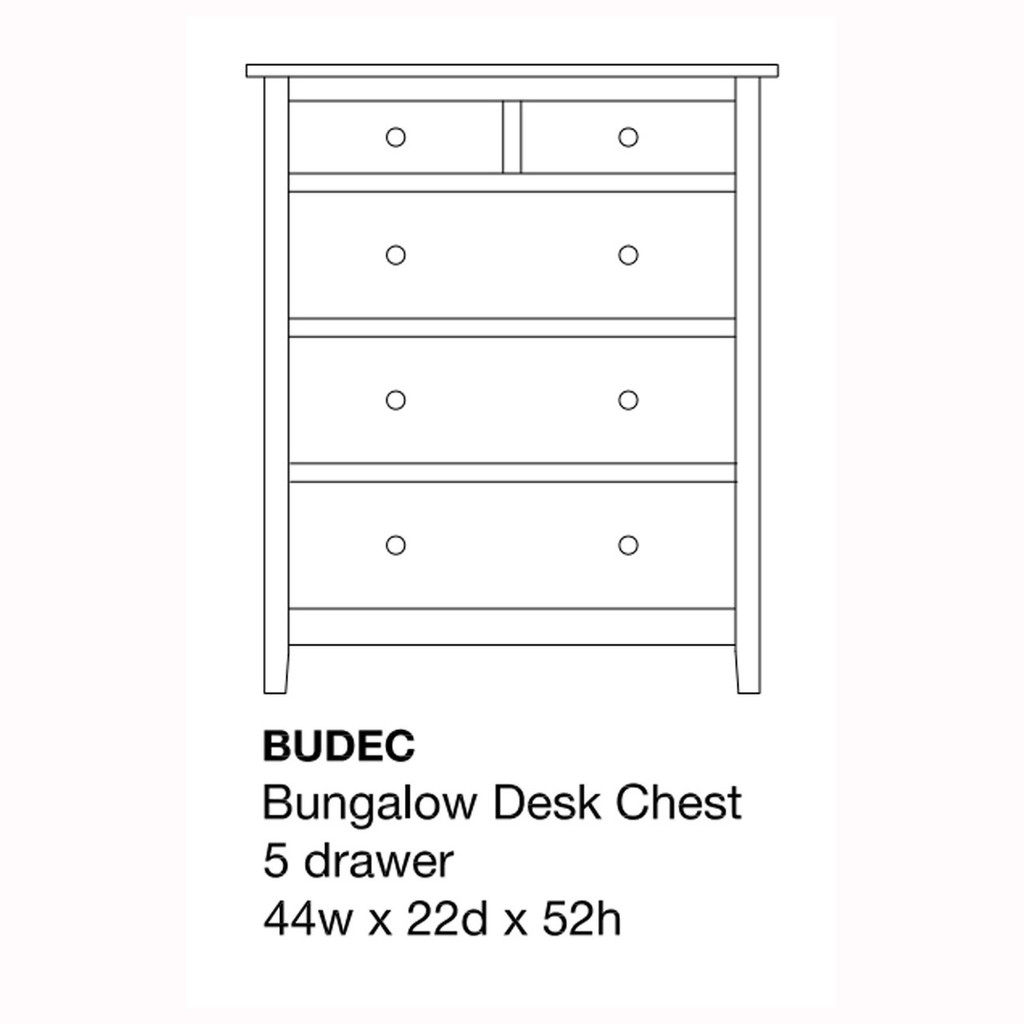 Bungalow Desk Chest