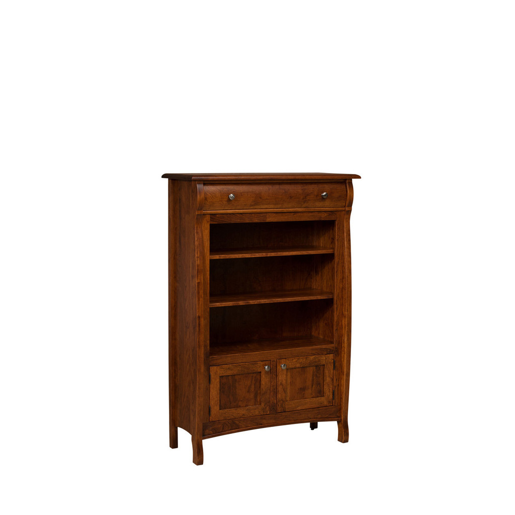 Castlebury Bookcase (with Drawer)