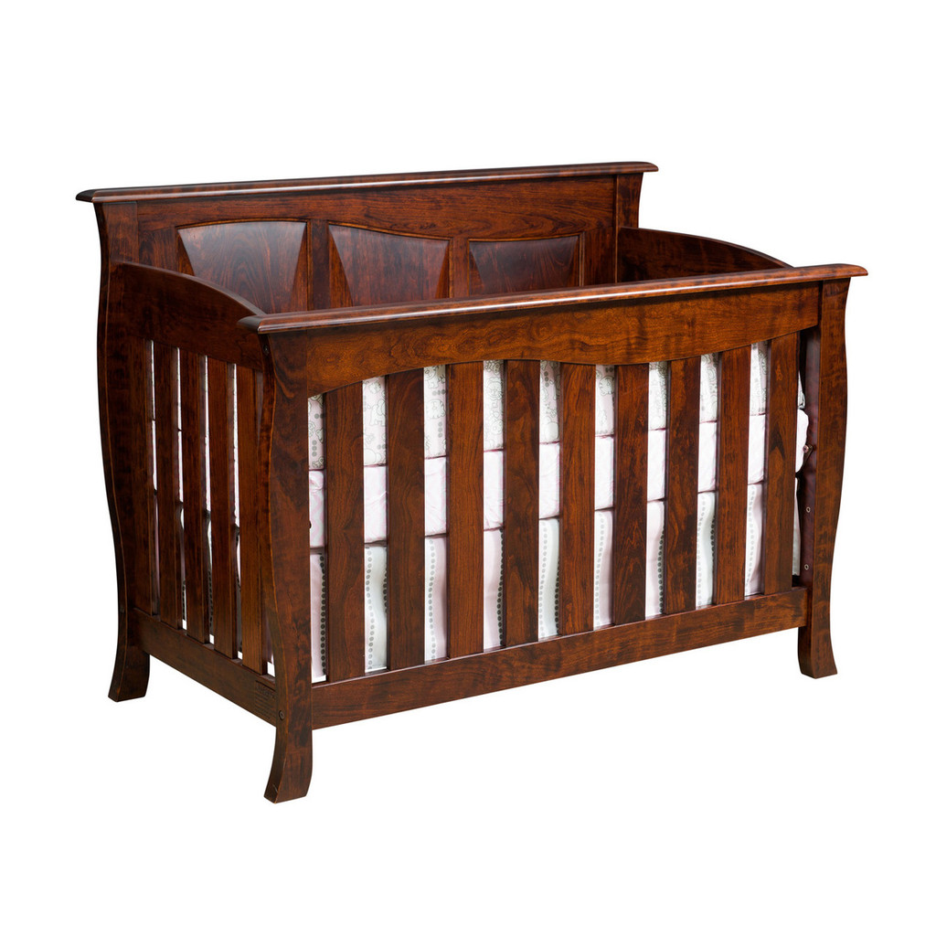 Cayman 3-in-1 Convertible Crib (Slat Front)