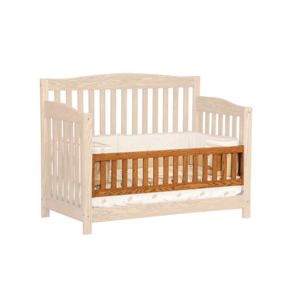 Cayman 3-in-1 Convertible Crib (Panel Front)