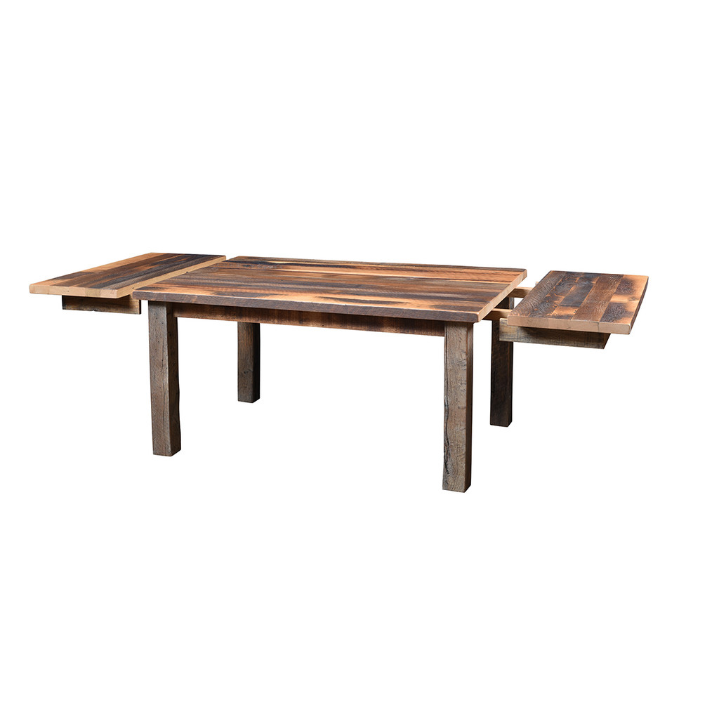 Almanzo Table (Barn Wood / Extendable)