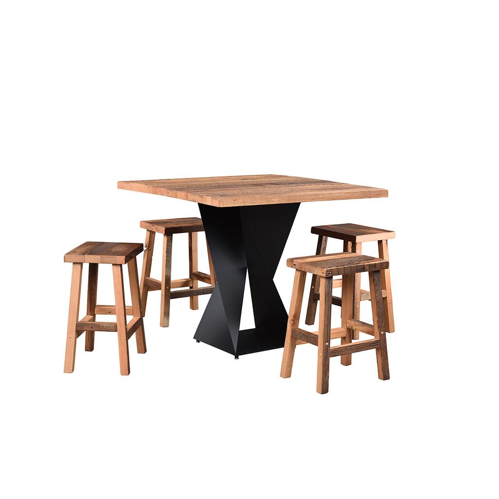 Avenue Bar Table (Barn Wood)