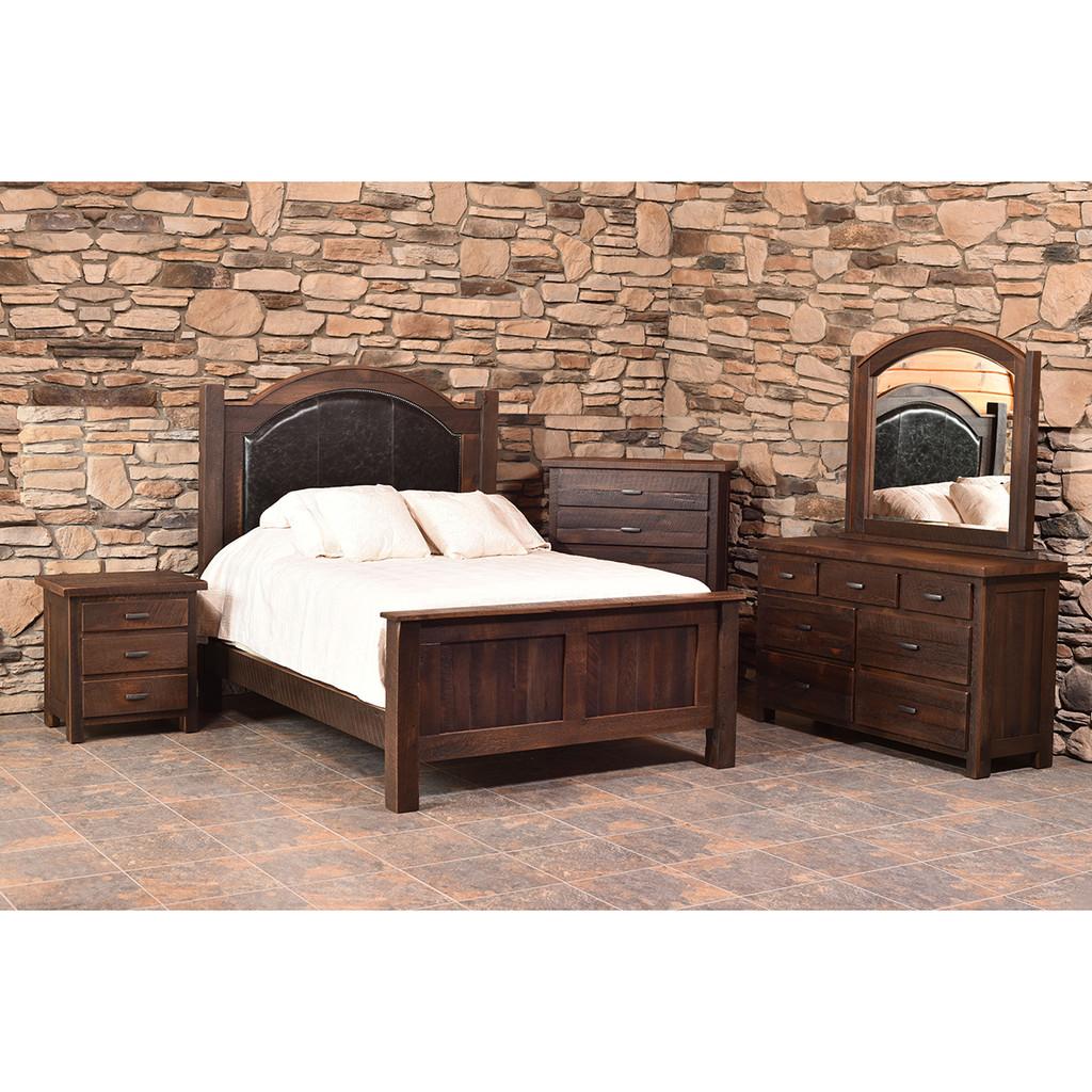 Quincy Bed (Barn Wood)