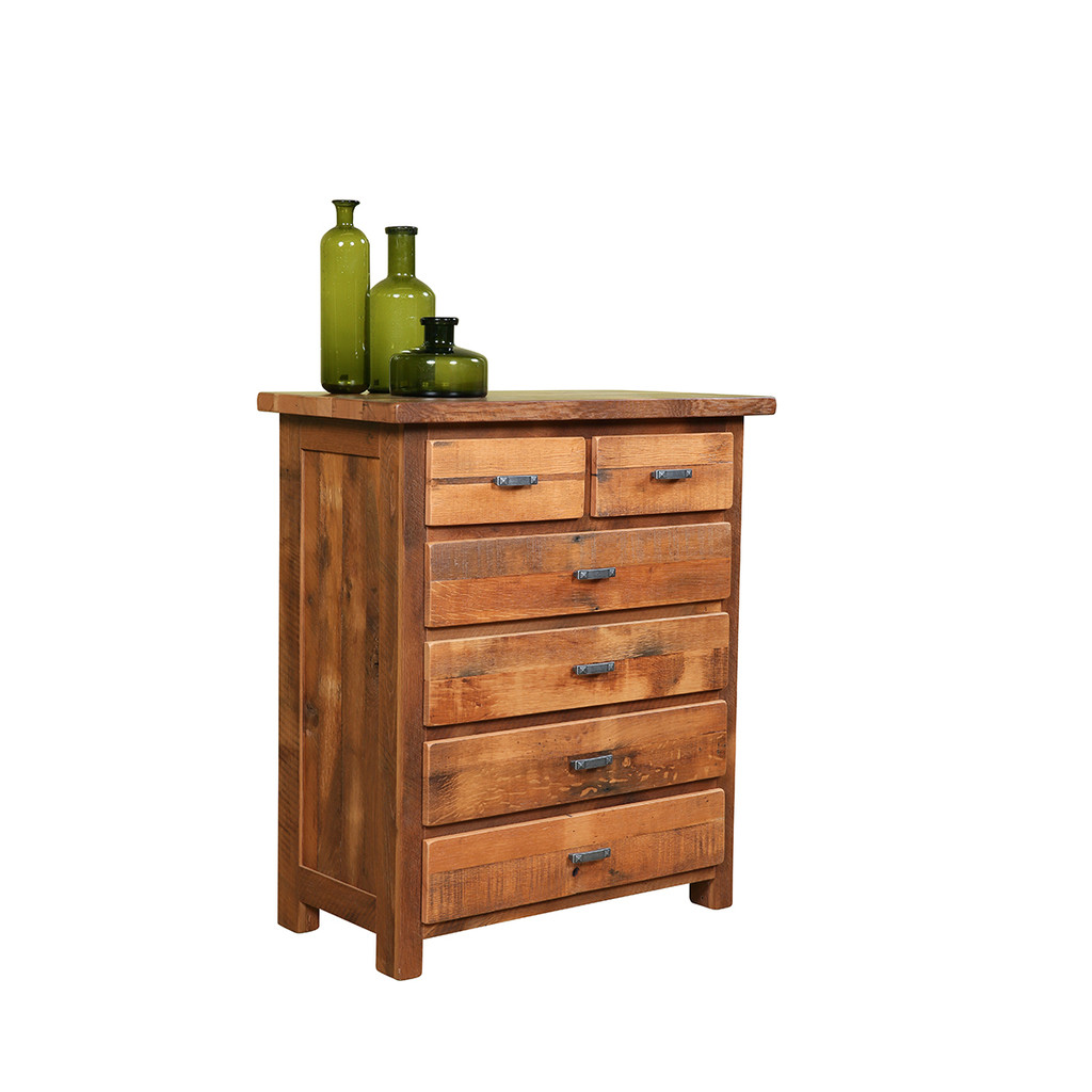 Farmhouse Chest of Drawers (Barn Wood)