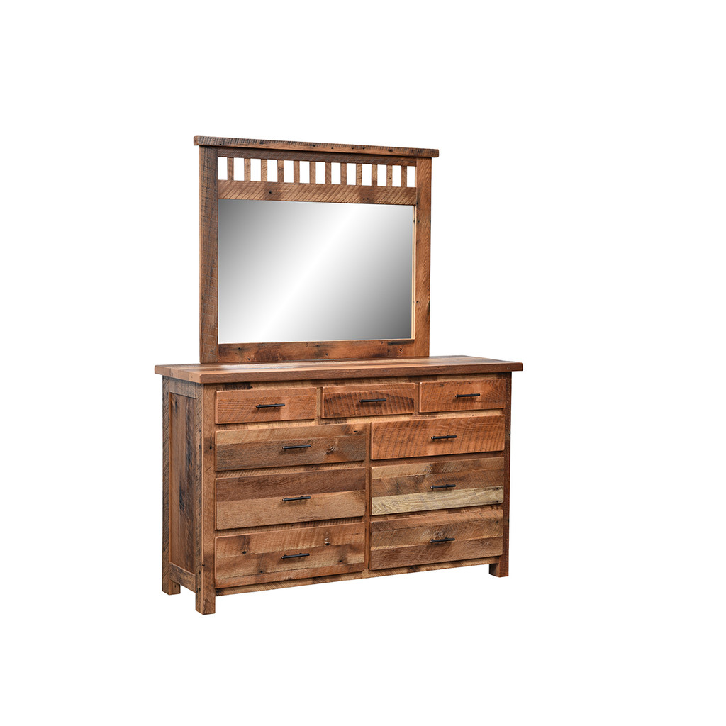 Savannah Mirror (Barn Wood)